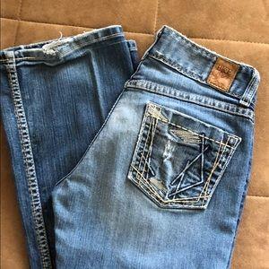 BKE jeans 27x33 1/2